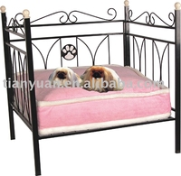 High quality factory wrought iron pet bed manufacturer