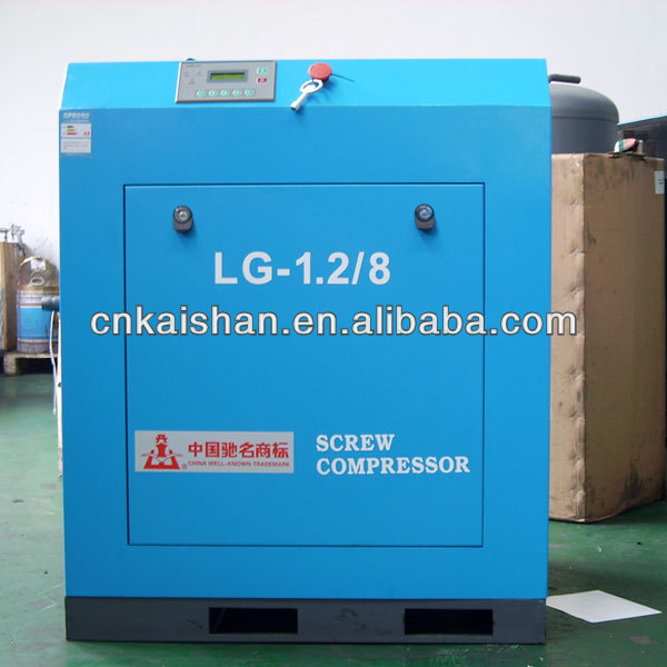 10HP Best Selling Stationary Screw A C Compressor LG-1.2/8