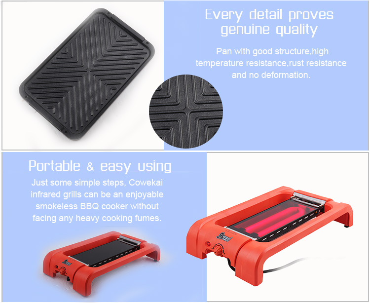 Smokeless Electric BBQ Grill
