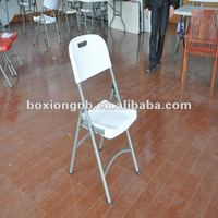 folding chair, 28 tube plastic blow molding folding Chair ,HDPE
