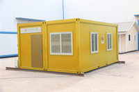 Good Insulated Timber customized cheap 40ft container office