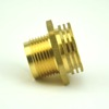 Fire fighting CPVC pipe insert brass adaptor connector