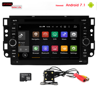 7 inch touch screen car gps navi radio for chevrolet captiva optra spark android 7.1 built-in 3G wifi TPMS DVR DAB+ Cheap price