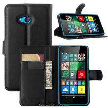 3 card holder and stand PU leather flip cover for Nokia microsoft lumia 640xl 640 lte dual case