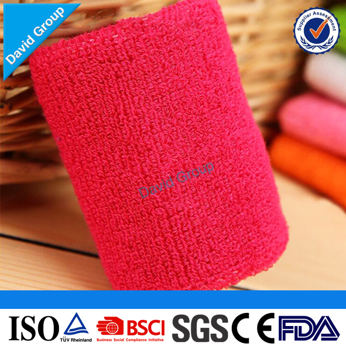 Alibaba Top Supplier Promotional Wholesale Custom Tennis Sweatband