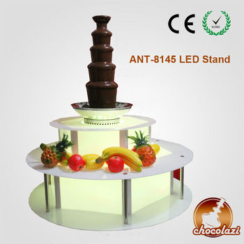 CHOCOLAZI ANT-8145 Acrylic LED BASE of Chocolate fountain stand