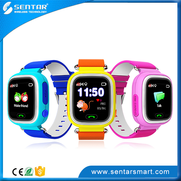 Hot Sell GPS kids tracking Smart Watch Mobile Phone Watch