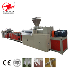 PVC Angle Beads Extruder Machine / Plastic Corner Bead Making Machine