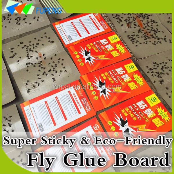 FUPENG Original Green and Odourless Fly Glue Paper Traps