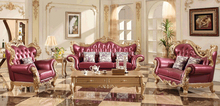 Antique carved luxury classic living room sofa set villa hotel lobby sofa furniture