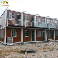 Light Steel Frame Building Prefab House Expandable Shipping Luxury Container House