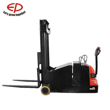 China EP 1Ton Shortcut operation new special condition counterbalaced electric power walkie pallet stacker forklift