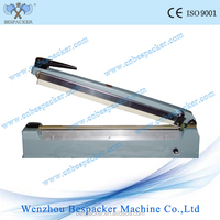 Aluminum body hand type aluminum bag sealer with side cutter plastic pe bags sealing machine portable plastic sealing machine