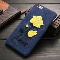 Manufacture Cheap Hard Flower Case for iPhone 6, for iPhone 6s Cell Phone Case, for IPhone 6 Cover PP Material