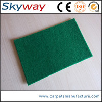 100% polyester Needle punched nonwoven morden super quality day and night event carpet mat india