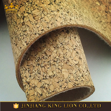 Natural Cork Material Fabric for Shoes