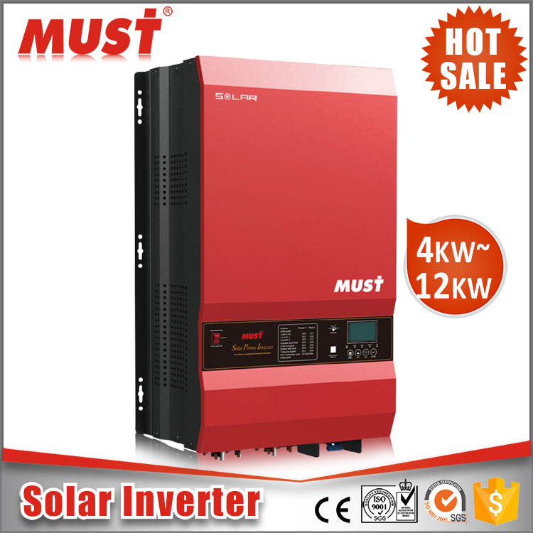 PV3500 hybrid 10kva inverter 10KW Inverter with MPPT Charge Controller for Solar Energy System Off grid