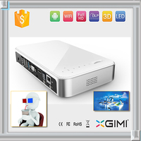 Pocket Led Mini powerpoint led hd projector with remote control with Vga/USB/AV input