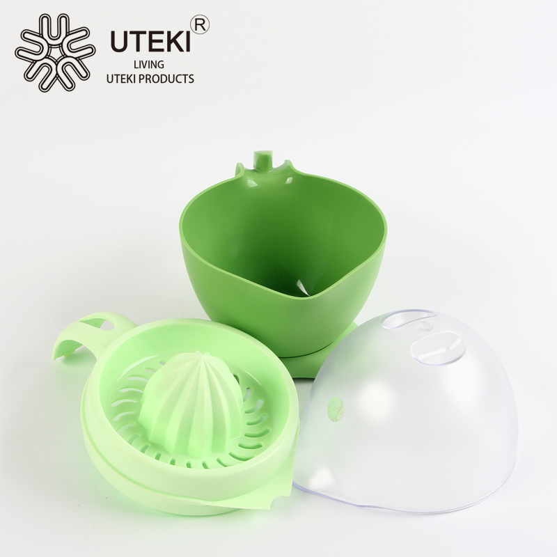 Factory directly sale plastic orange juicer with lid