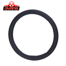 OY-174 black/brown steering wheel cover the car 13 inch steering wheel cover