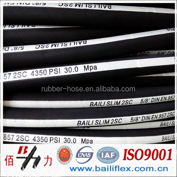 familiar with Parker hose high pressure flexible hydraulic rubber hose 1sc/2sc