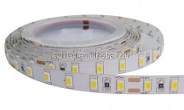 5630 Waterproof ip65 Natural White 60 LED/meter CE /RoHS certificate flexible led light strip