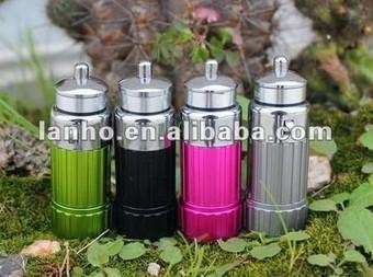 2014 New Car Cigarette Lighter Rechargable LED Flashlight Torch