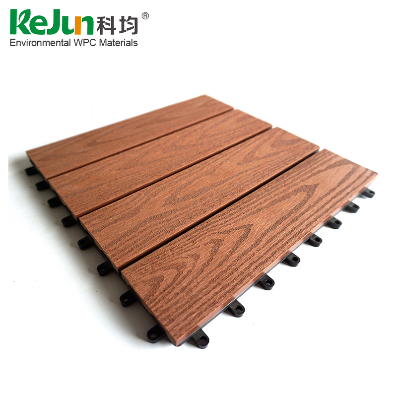 300*300mm Colorful composite balcony anti-slip outdoor floor tile