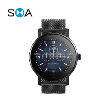 2018 Hot Selling Smart Sport Watch Phone with heart rate Make/answer calls 5 days standby time