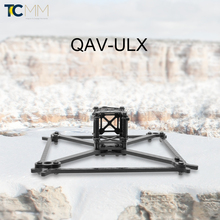"QAV-ULX 185 Full Carbon Fiber 4mm 5"" 185mm DIY Mini Drone Cross Racing frame kit"
