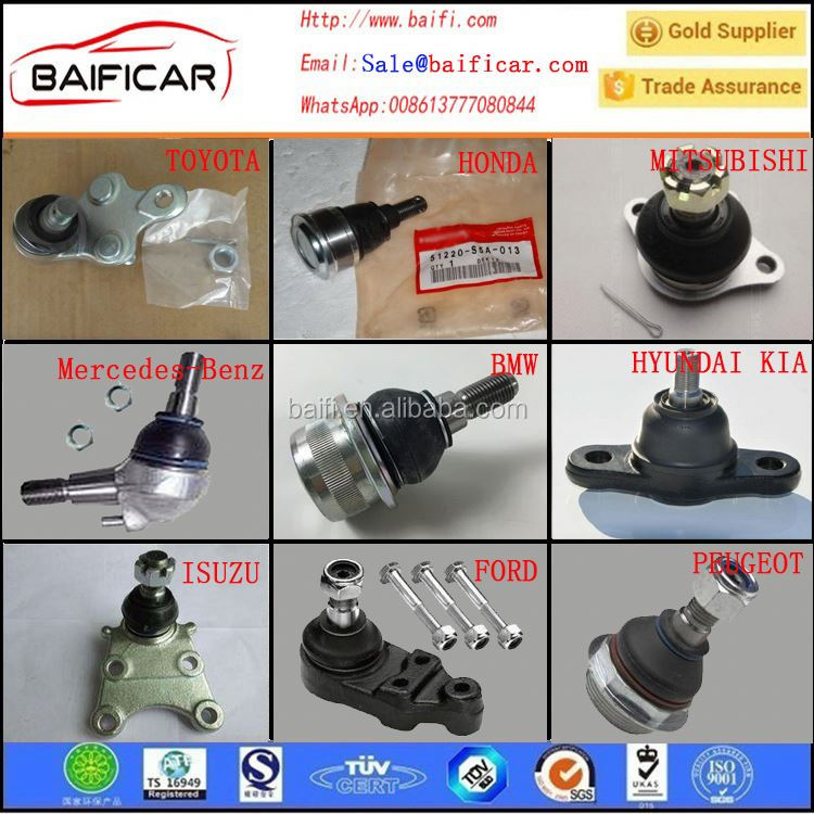 BAIFI Auto Parts Small Stainless Steel Ball Joints for Toyota RIZE/crown GRJ182 43310-0N010