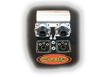 Pro Design Intake Manifold Stock Reed Cages with Boost Bottle