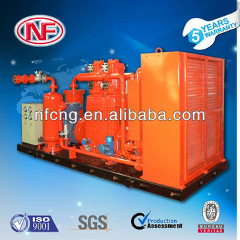 Air Cooling natrual gas Compressor