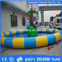 big inflatable pool for adults outdoor swimming