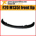 F20 M135I Carbon fiber car front bumper lip for BMW 2012 UP M style