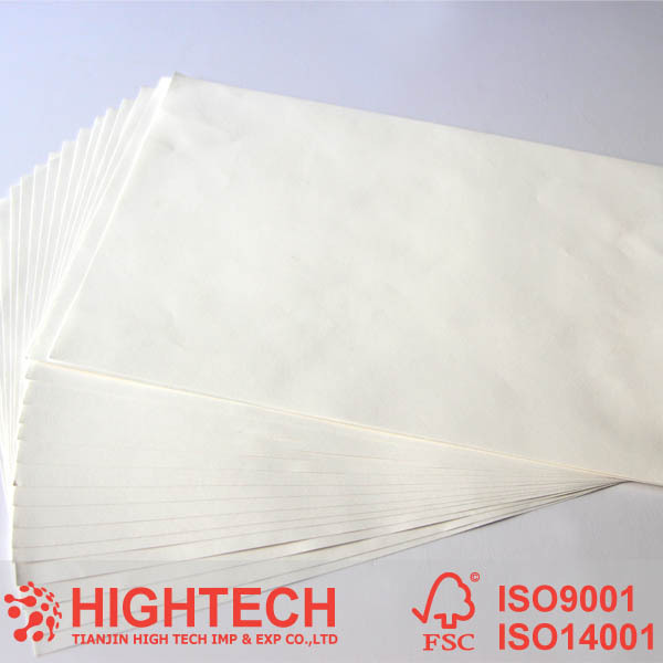 A4 white watermark and 2mm security thread bond paper