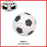 Promotional foam stress soccer ball/football size 5# 4# 3# 2# 1# brand logo custom print PU/PVC