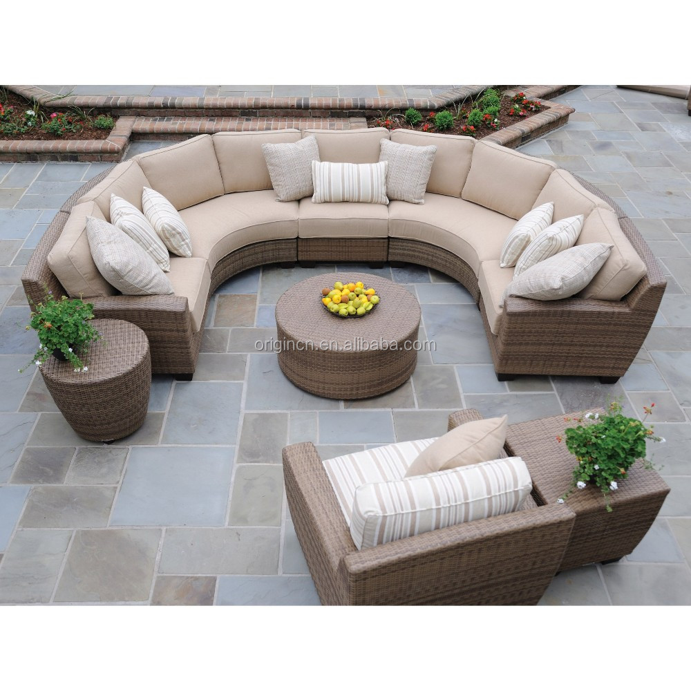 Elegant High Quality Outdoor Ratan Wicker Garden Furniture