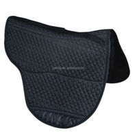 Treeless saddle pad