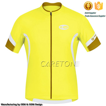 Full Length Zip Jersey Short Sleeves Cycling Jersey Delivery by One Unit Cycling Jersey