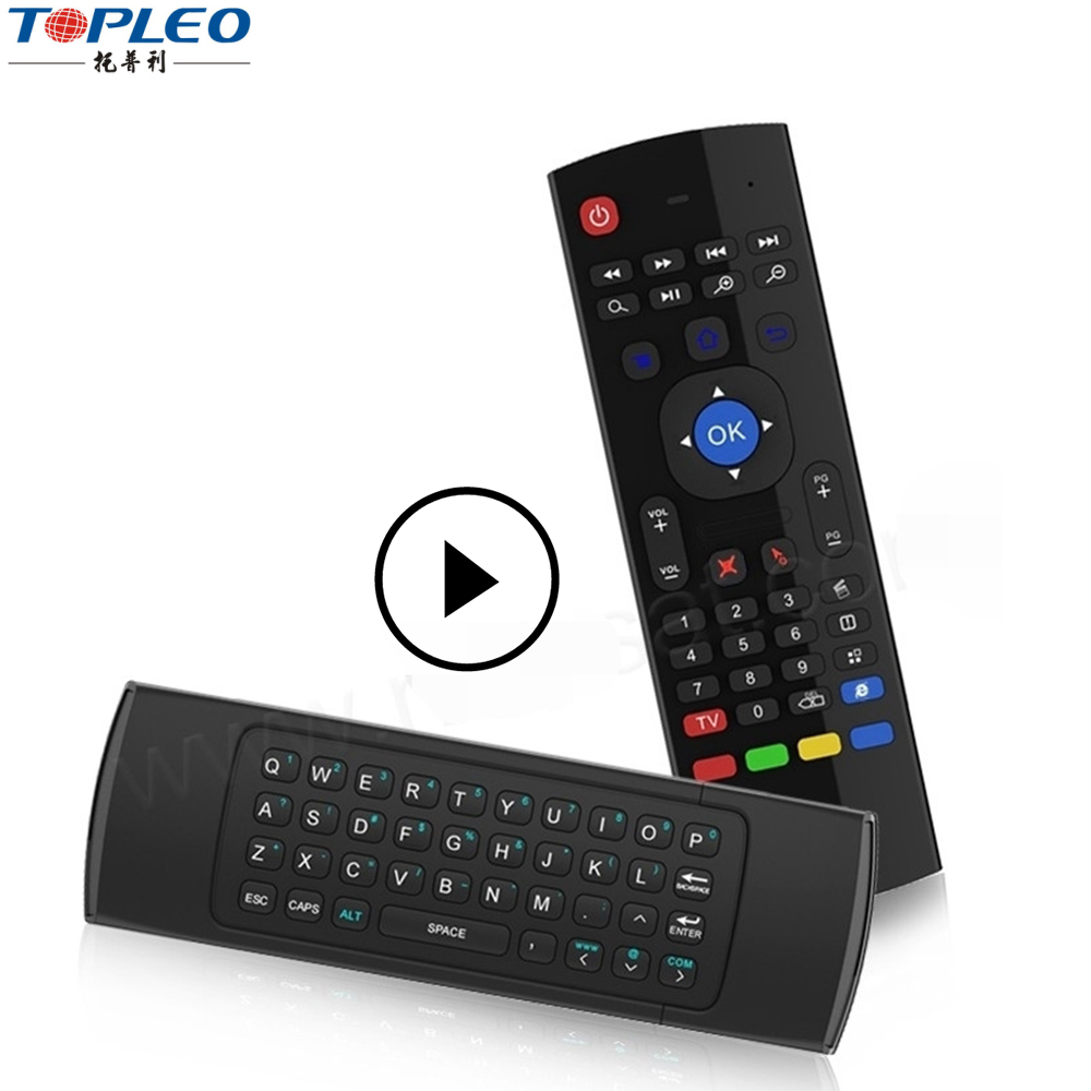 Keyboard Remote 2.4GHz Wireless Fly Air Mouse For Android PC Smart MX3