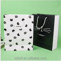 Luxury Style Printed Gift Custom Shopping Paper Bag with Handle