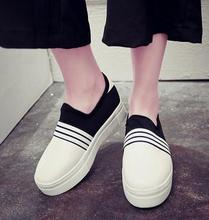 China supplier korean style shoes design comfortable fashion platform shoes