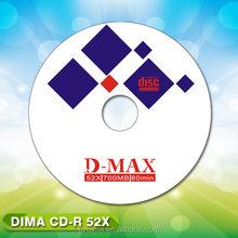 professional factory export high quality blank media cdr