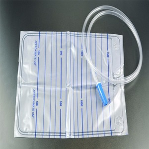2000ml Travel Urine Bag with T-valve
