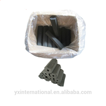 100% Natural bbq coal made by wood charcoal making machine