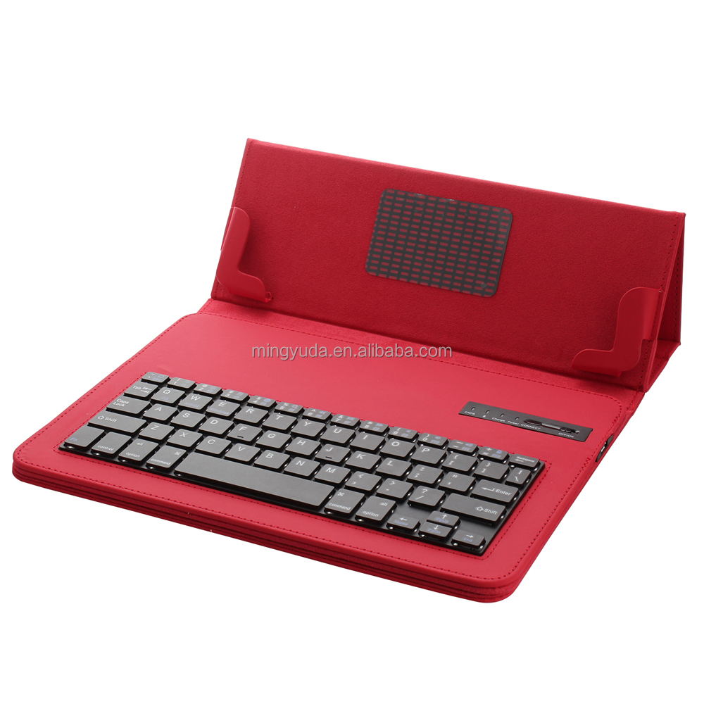 Wholesale Fashion Design tablet leather keyboard case for asus zenfone 5