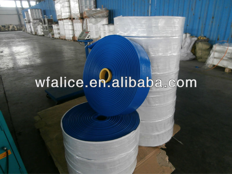 manufacturer in china pvc plastic irrigation corrugated pipe