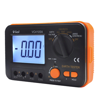 VC4105A digital electric grounding meter