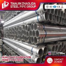thin wall tube 2 inch pre galvanized round metal pipe with price per ton
